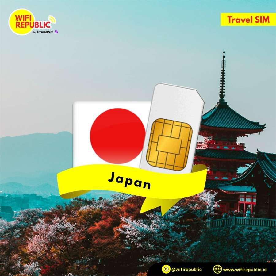 Gambar SIM Card Jepang - 7 Hari UNLIMITED