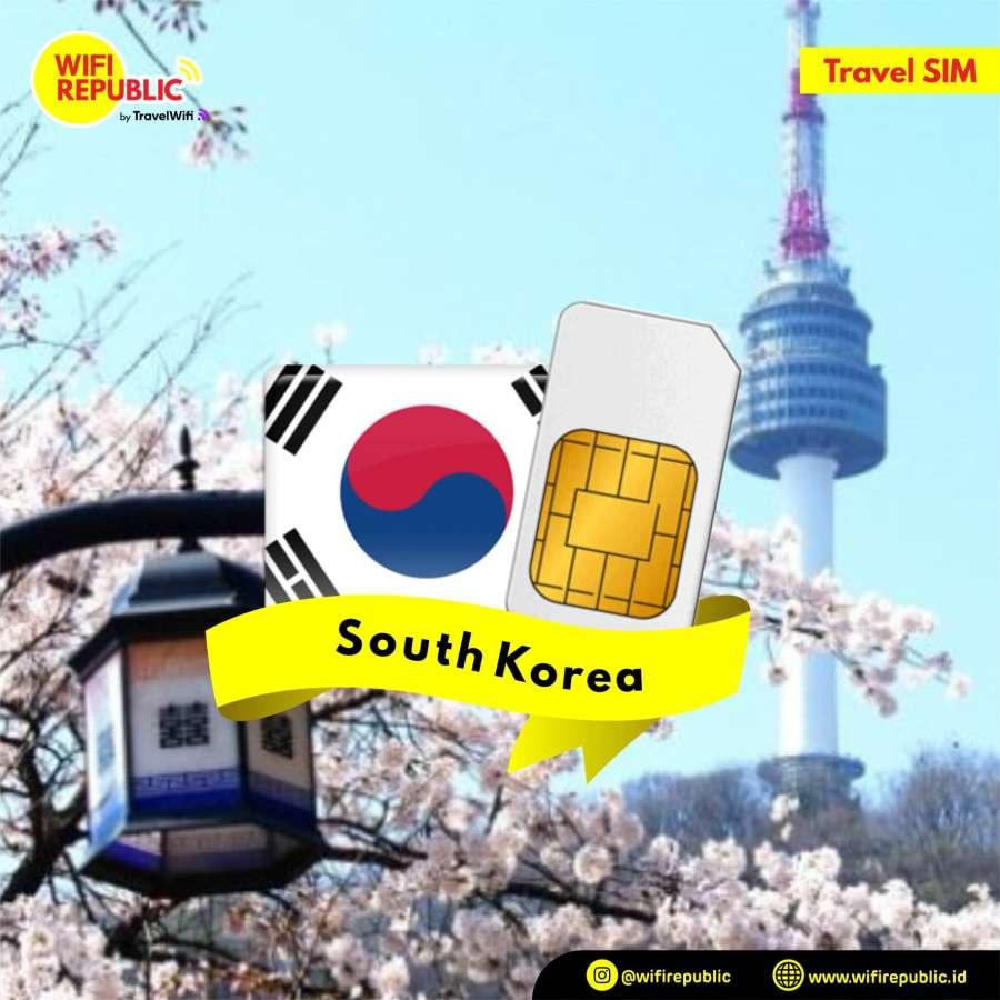 Gambar SIM Card Korea - 7 Hari UNLIMITED