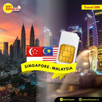 SIM Card Singapore Malaysia - 5 Hari UNLIMITED