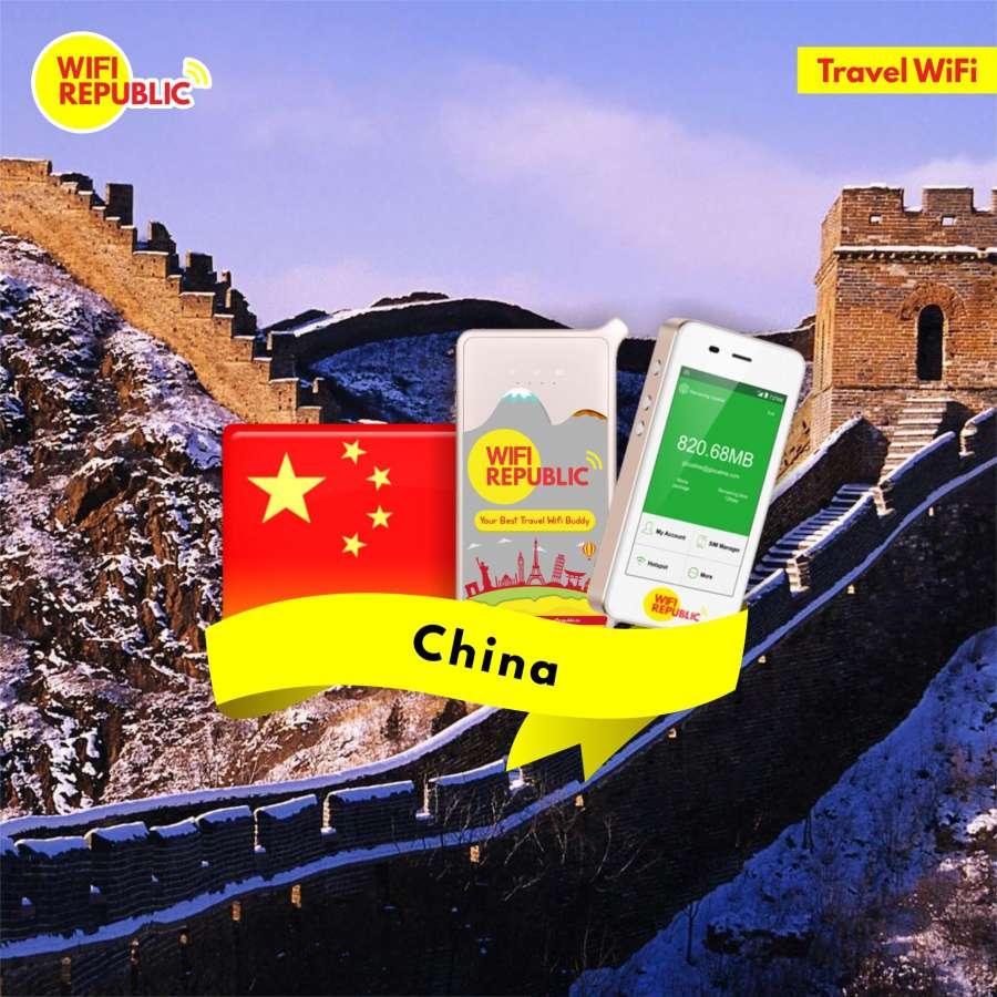Gambar WiFi China Unlimited include VPN