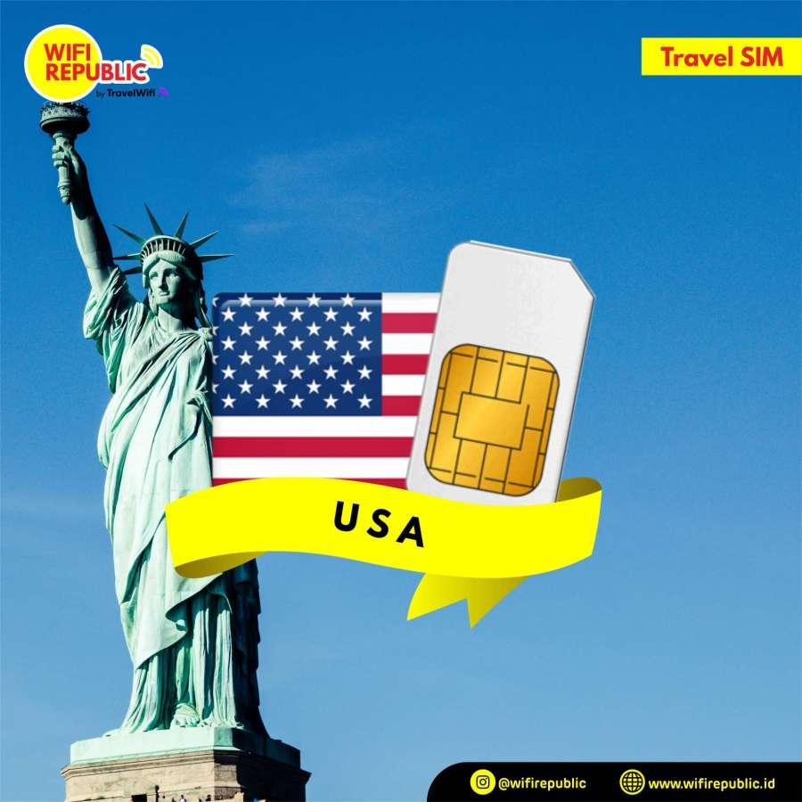 Gambar SIM Card USA - 7 Hari Unlimited