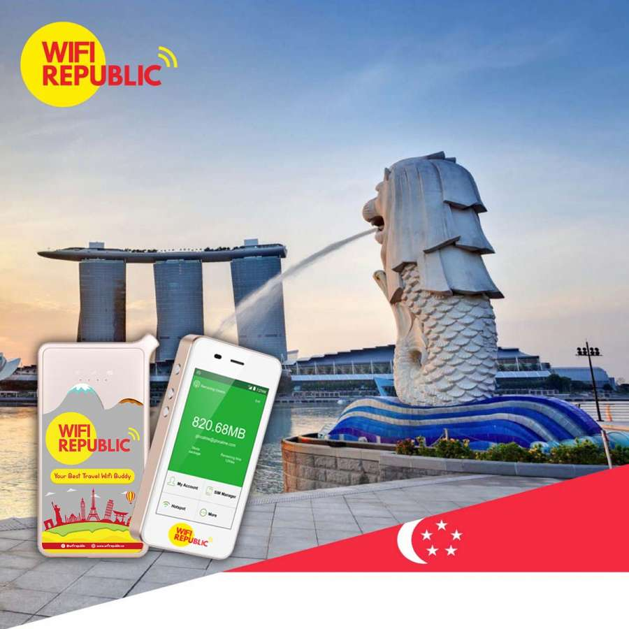Gambar Wifi Singapore Unlimited Plus