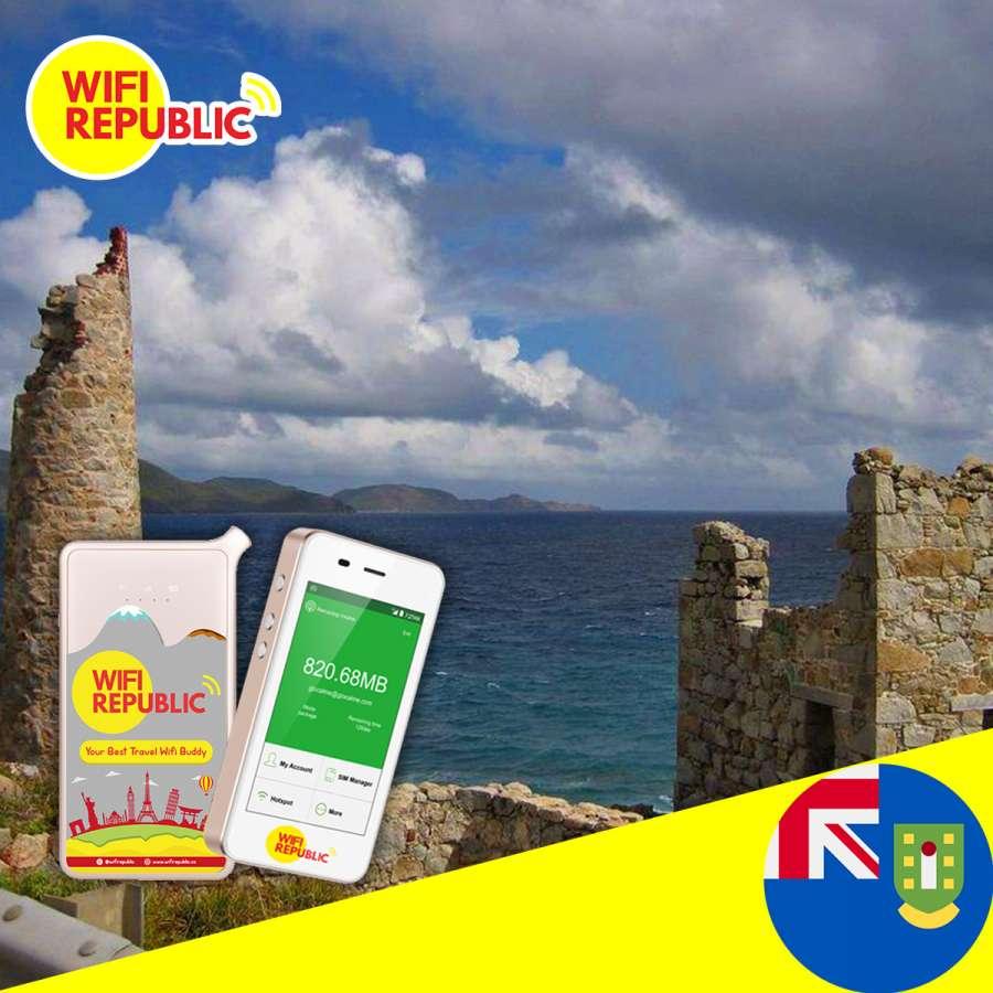 WiFi British Virgin Island Unlimited