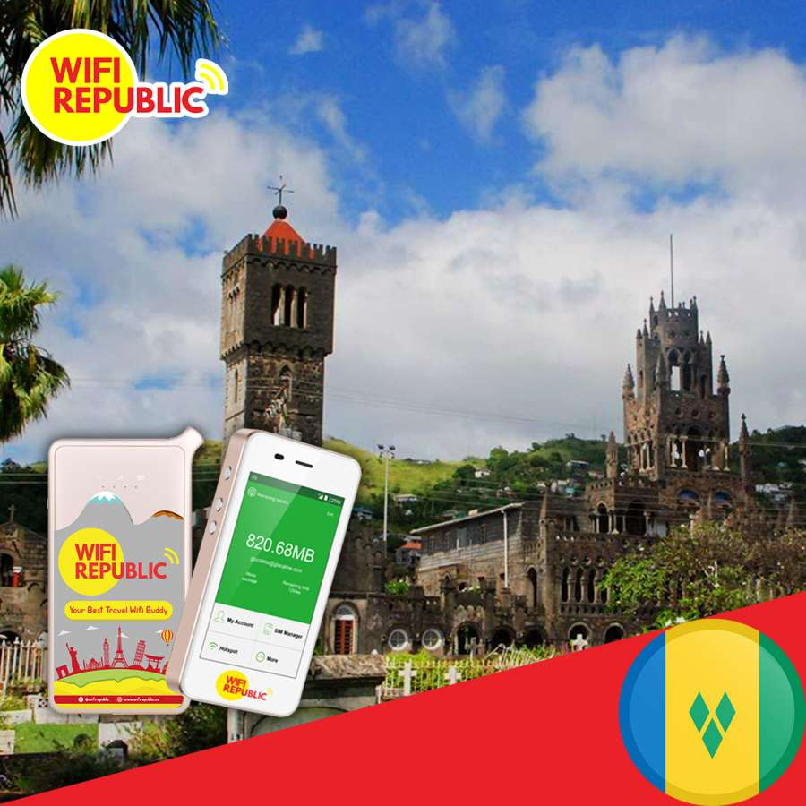 Gambar WiFi Saint Vincent & The Grenadines Unlimited