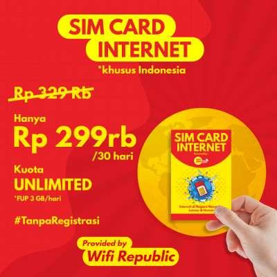 Gambar SIM CARD Internet Indonesia 30 hari