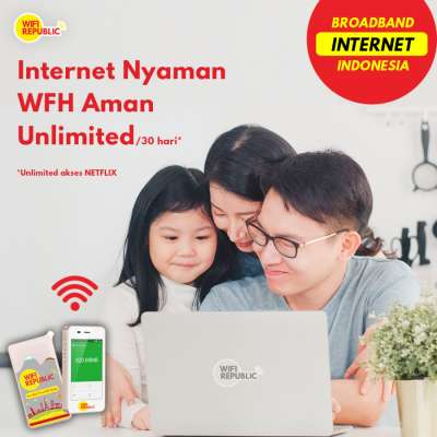 Gambar Internet Indonesia Unlimited Wifi Monthly