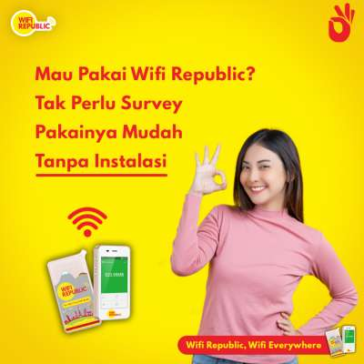 Gambar Wifi Indonesia Unlimited Monthly Pasang Mudah