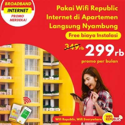 Gambar Wifi Indonesia Unlimited Monthly Apartemen