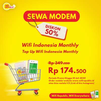 Gambar Promo Internet Indonesia Unlimited Wifi Monthly