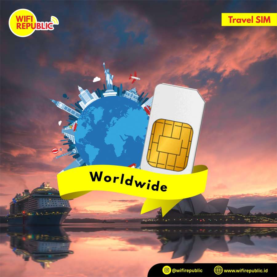 Gambar SIM CARD Worldwide 20 GB - 30 Hari