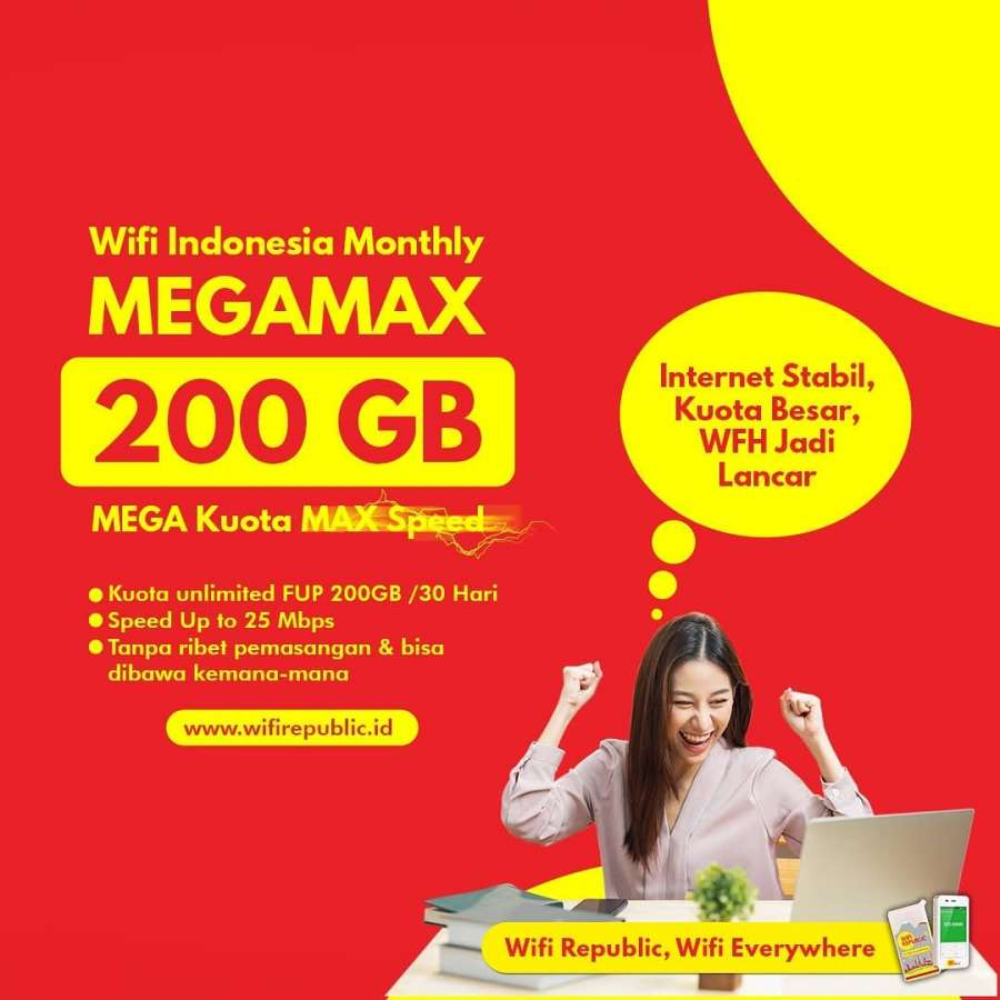 Gambar Wifi Indonesia Monthly Wifirepublic MEGAMAX