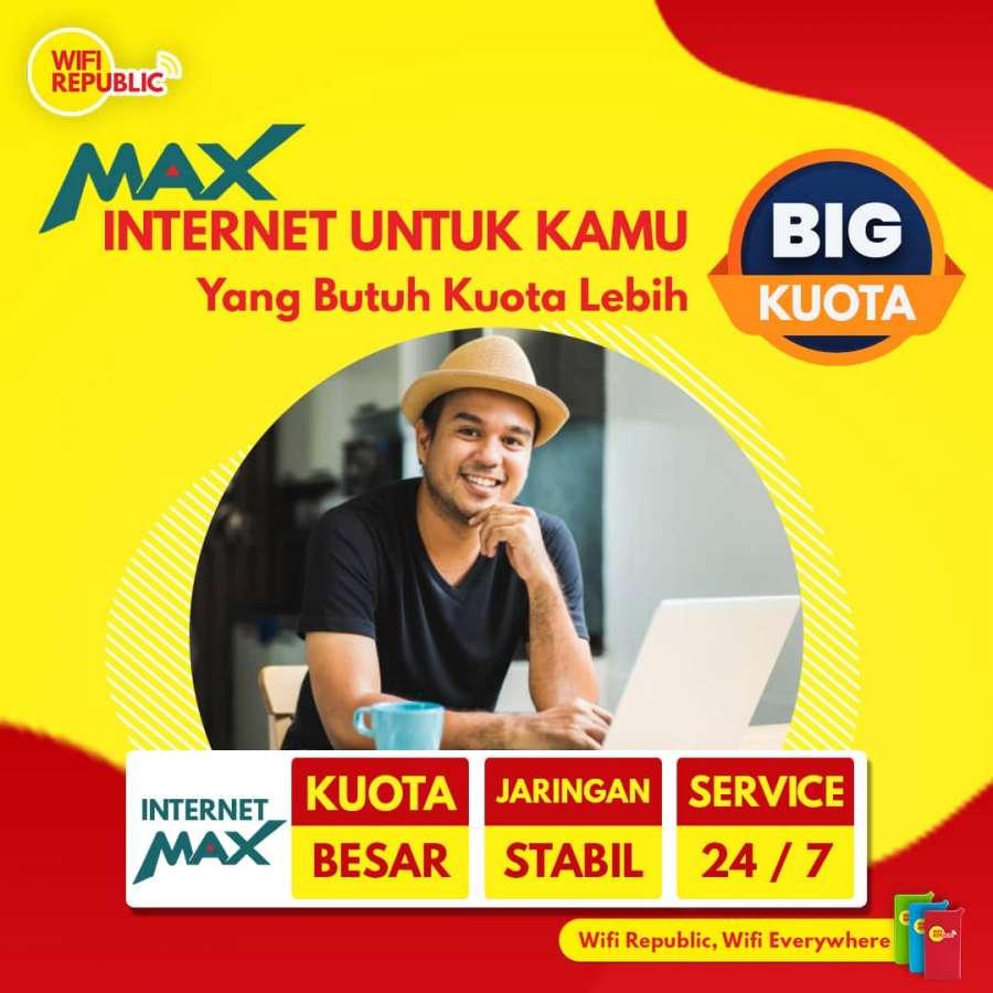 Gambar Wifi Indonesia Internet MAX 50 GB Kuota Lebih