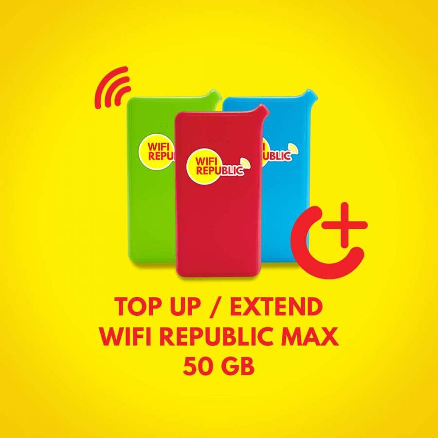 Gambar Top Up Wifi Indonesia MAX 50 GB