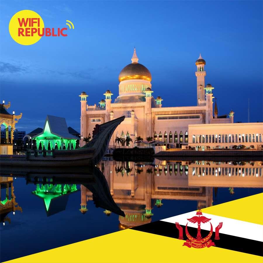 Gambar WiFi Brunei Darussalam Unlimited