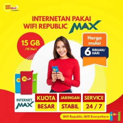 Gambar Wifi Indonesia Internet MAX 15 GB