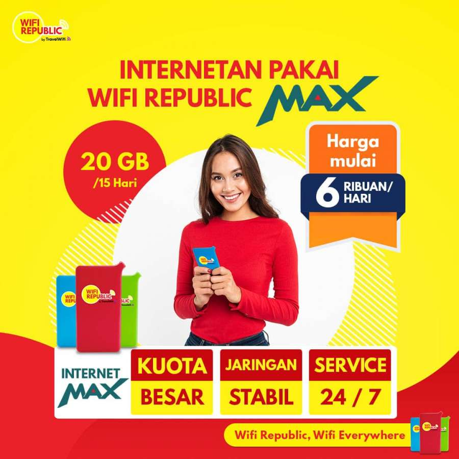 Gambar Wifi Indonesia Internet MAX 20 GB