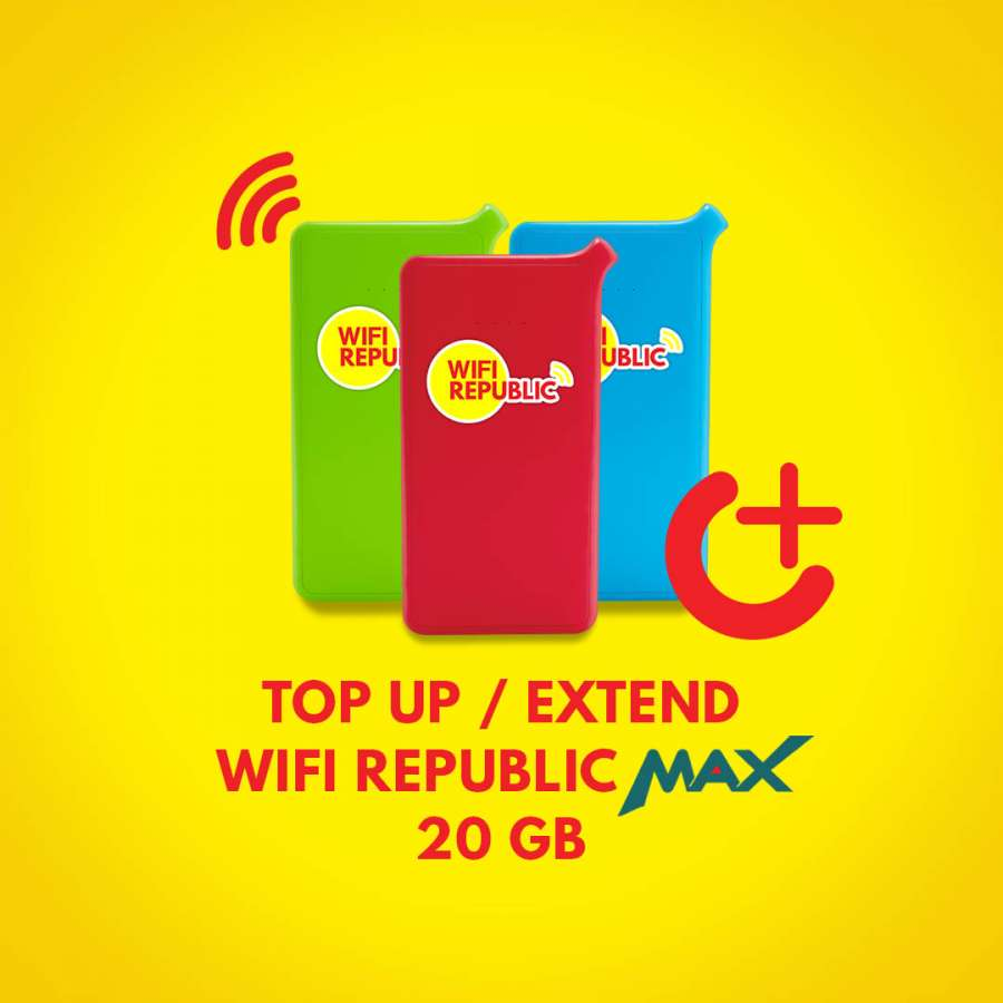 Gambar Top Up Wifi Indonesia MAX 20 GB