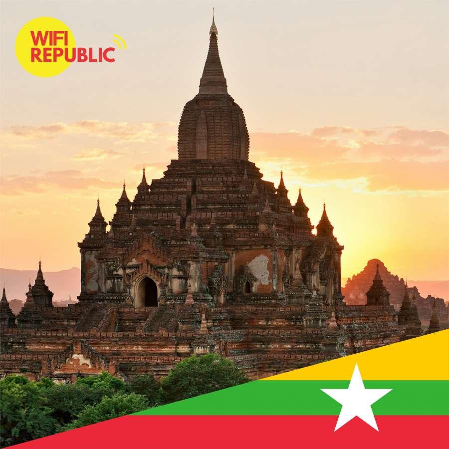 Gambar WiFi Myanmar Unlimited