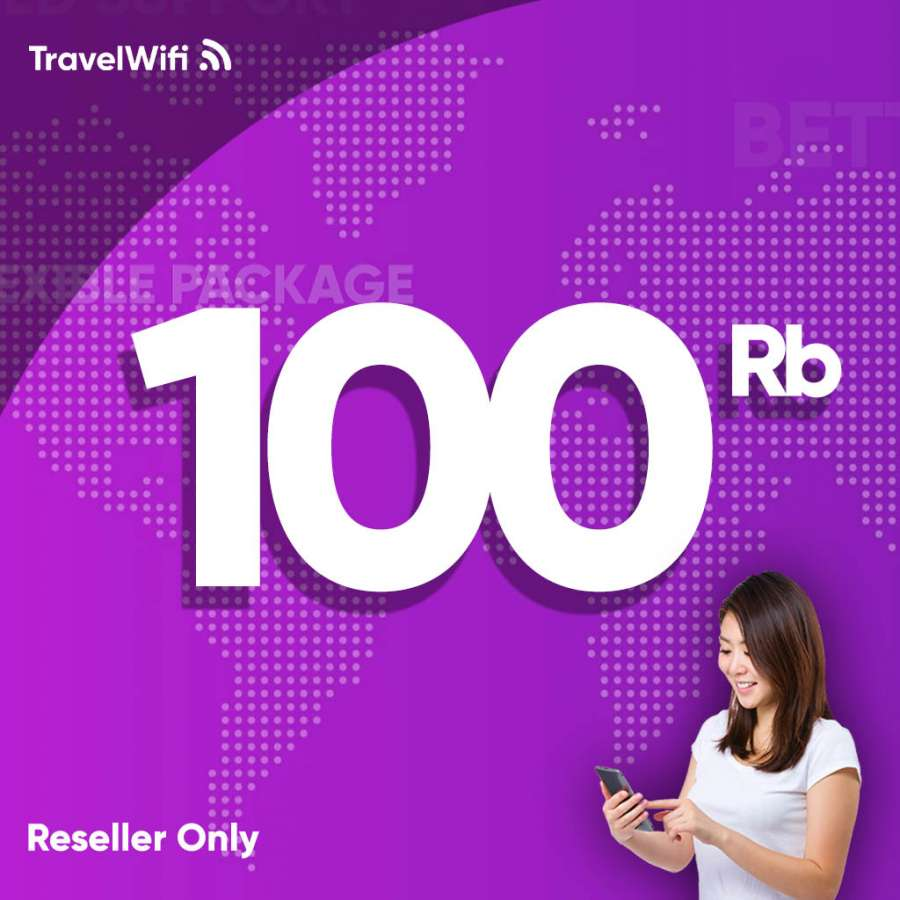 Gambar Top Up Reseller TravelWifi 100rb