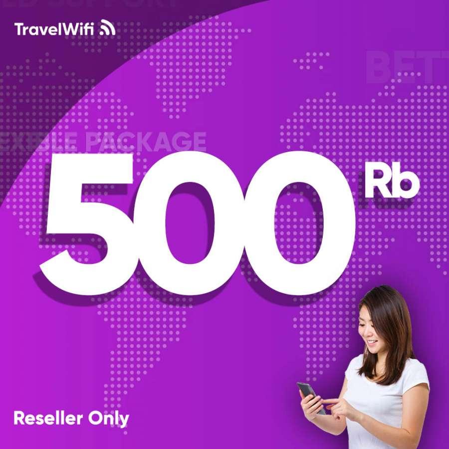 Gambar Top Up Reseller TravelWifi 500rb