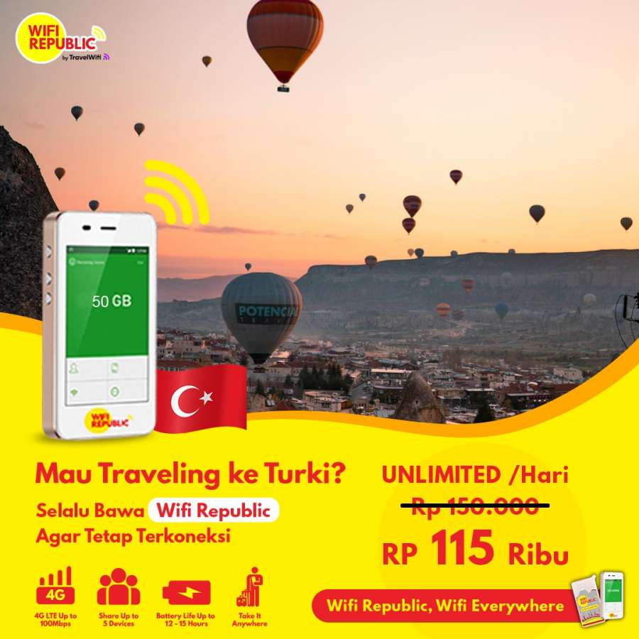 WiFi Turki Unlimited Plus