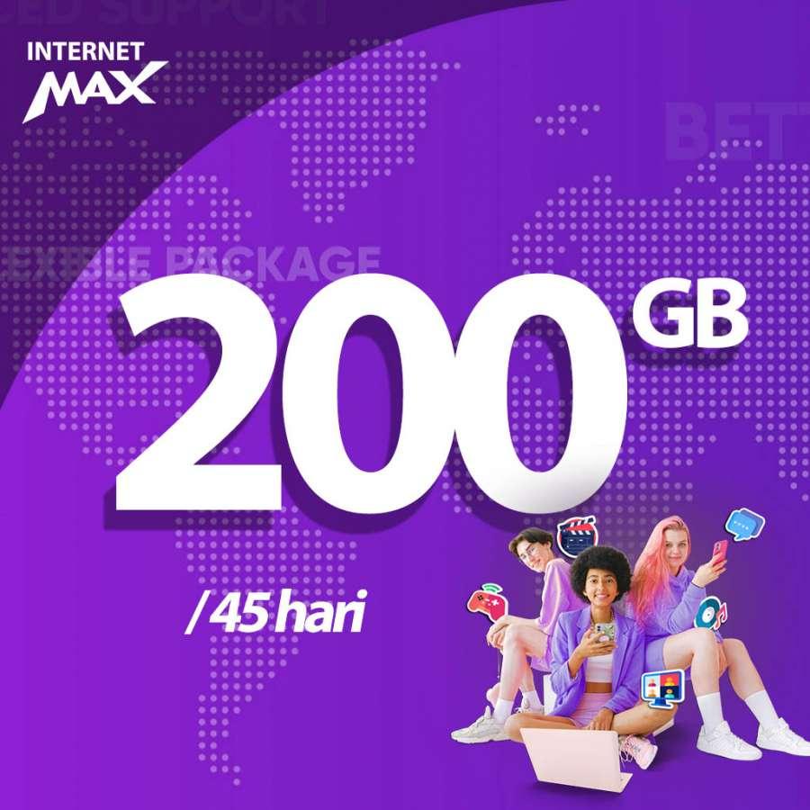 Gambar Wifi Indonesia Internet MAX - 200 GB