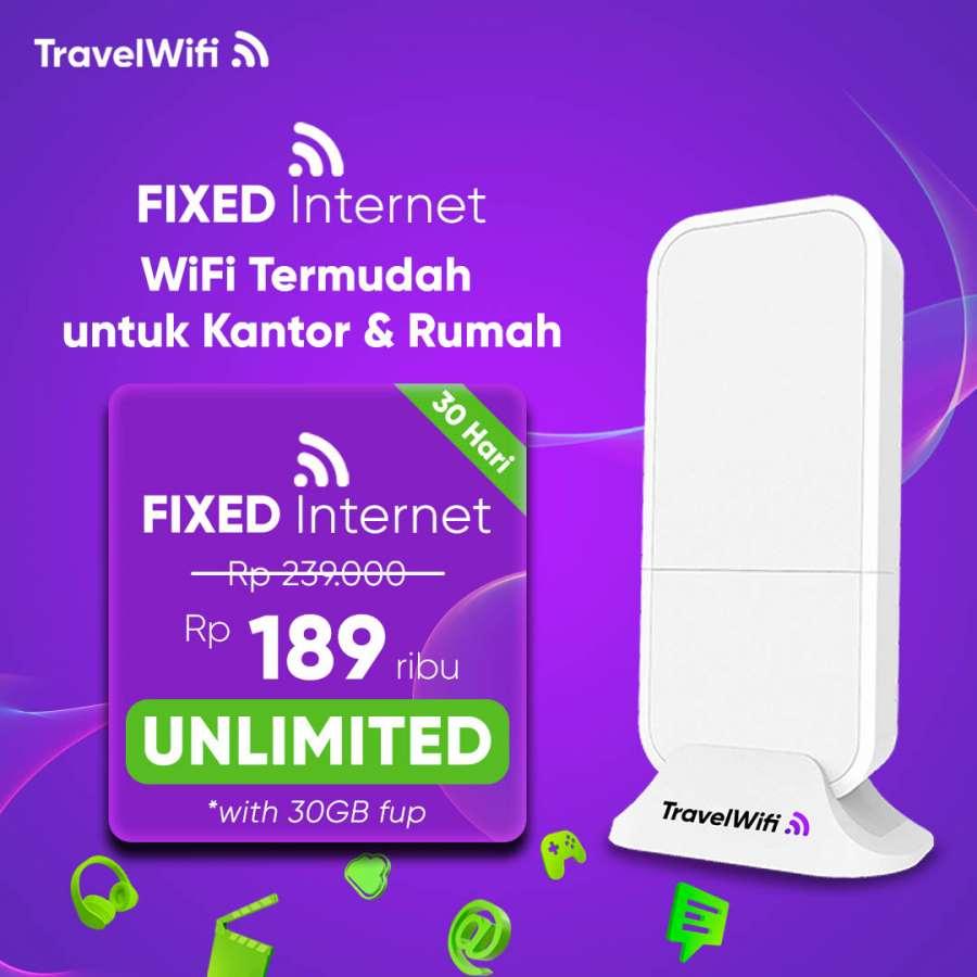 Gambar TravelWifi Fixed Internet 30 GB