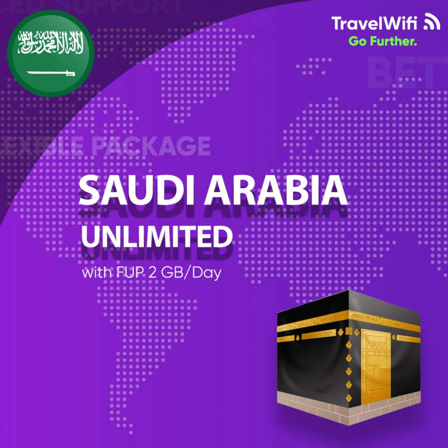 Gambar Saudi Arabia Unlimited FUP 2 GB