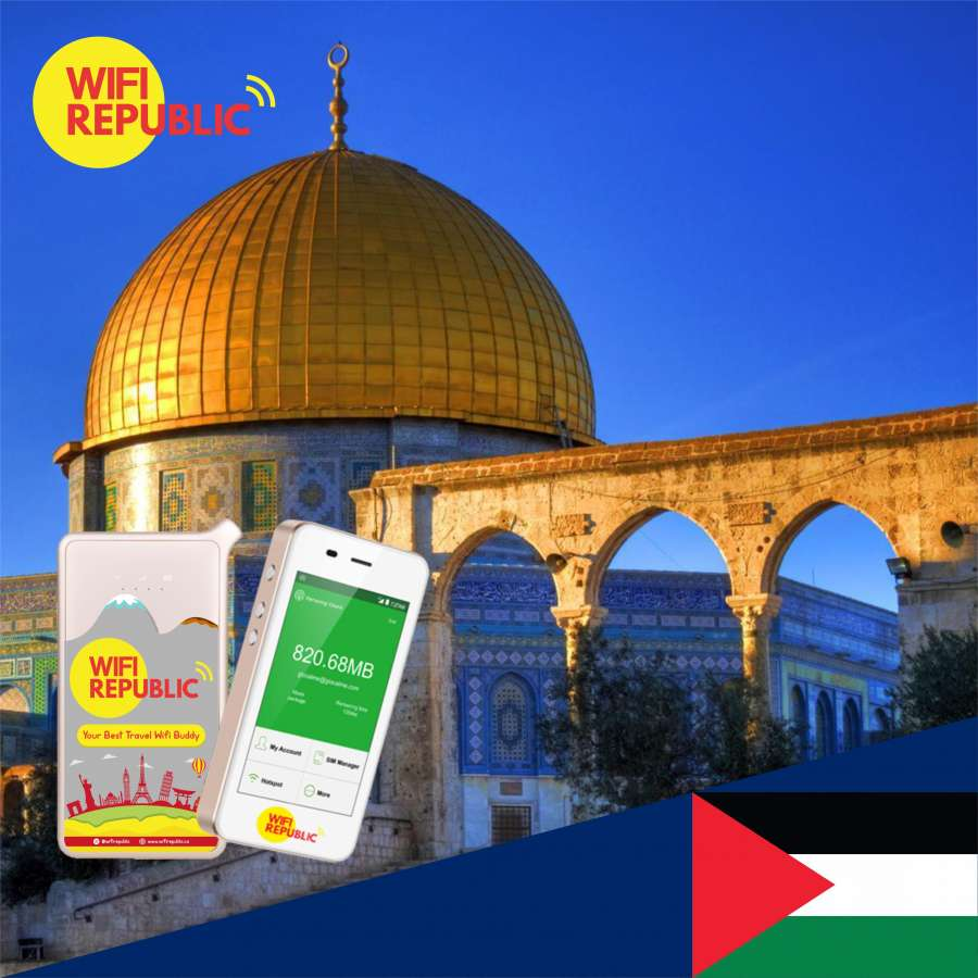 Gambar WiFi Palestine Unlimited