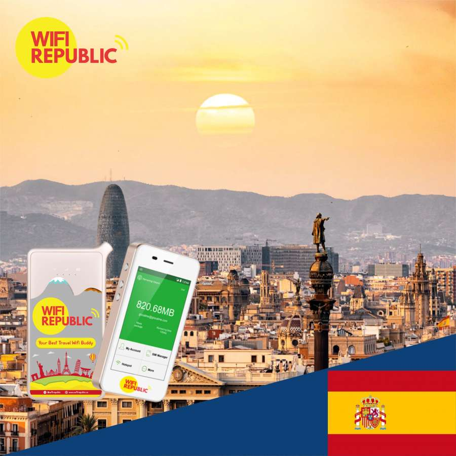 Gambar WiFi Spanyol Unlimited