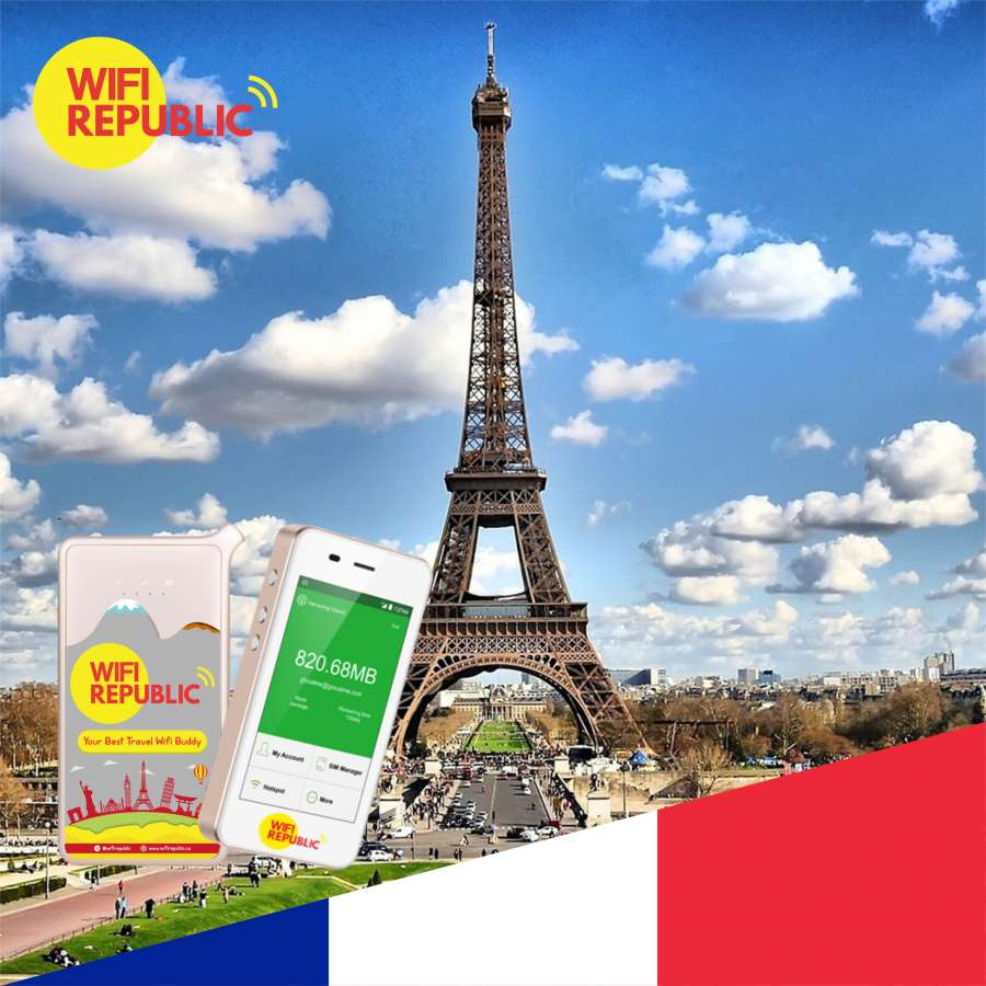 Gambar WiFi Perancis Unlimited