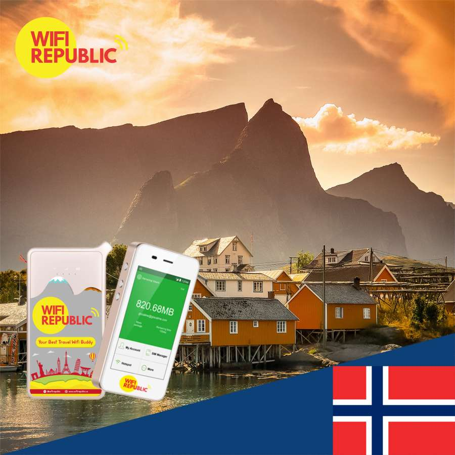 Gambar WiFi Norway Unlimited