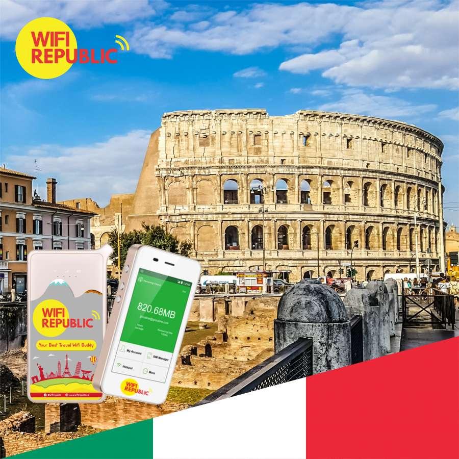 Gambar WiFi Italy Unlimited