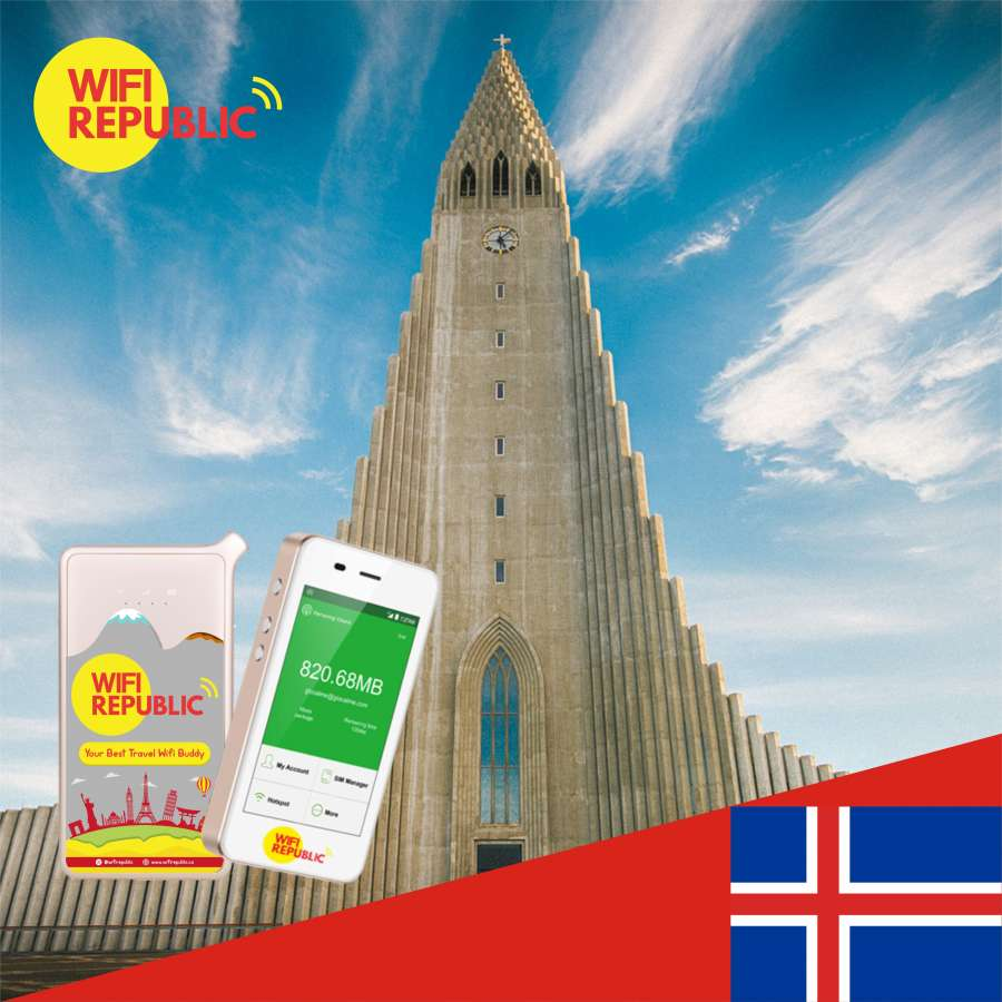 Gambar WiFi Iceland Unlimited